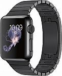 Apple Watch (first-generation) 38mm Stainless Steel Case with Space Black Link Bracelet Band $349 #LavaHot http://www.lavahotdeals.com/us/cheap/apple-watch-generation-38mm-stainless-steel-case-space/122972