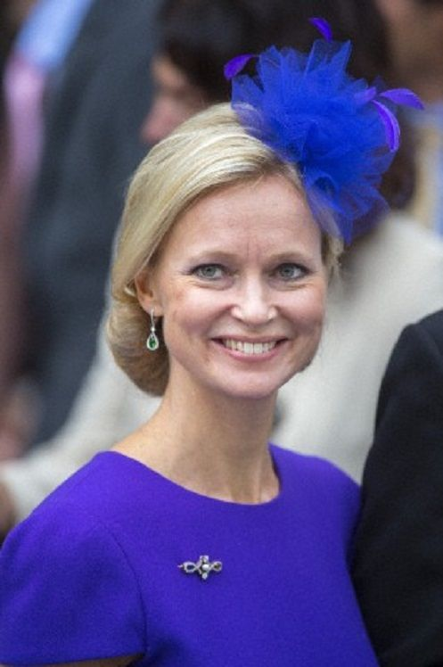 Dutch Princess Maria-Carolina de Bourbon de Parma