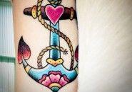 Tatuagens de Âncoras
