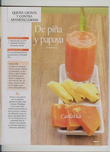#jugos #licuados #batidos #saludable