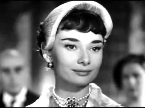 """""""VACACIONES EN ROMA"""" (1953) de William Wyler Música:La Princesa que queria Vivir(1953) - Gregory Peck & Audrey Hepburn (Años 50)"""