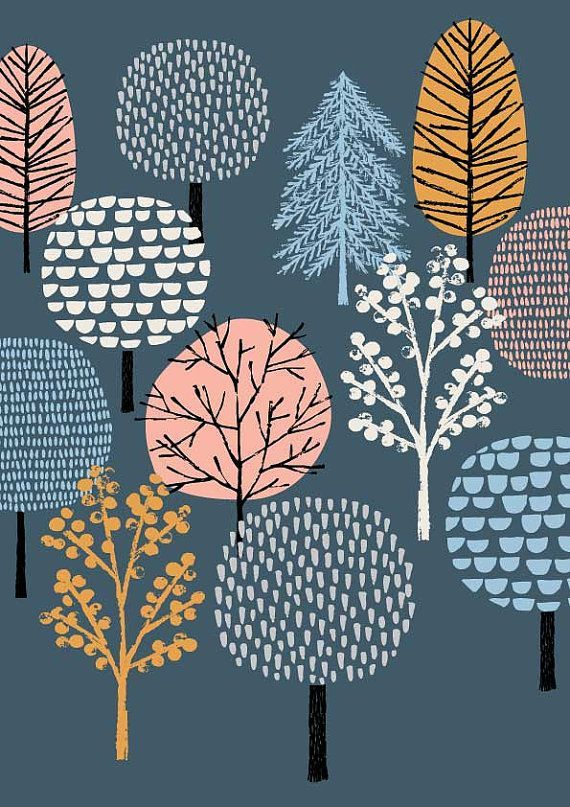 Woodland, limited edition giclee print