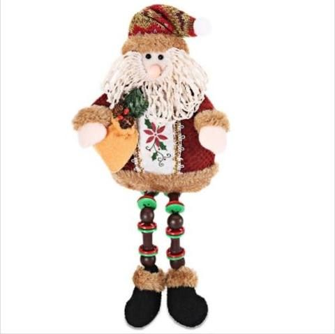 Details Zu Christmas Decoration Doll Cute Two Patterns Santa Claus Deer Christmas Tree Orna Ebay And Drop