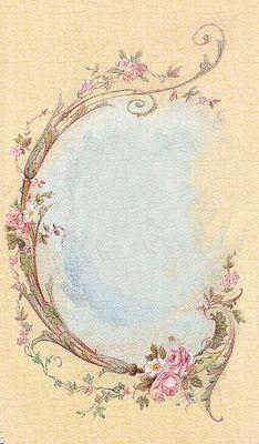 **FREE ViNTaGE DiGiTaL STaMPS**: FREE Vintage Image victorian frame
