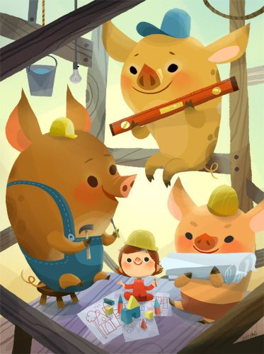 three little pigs inc solution The three little pigs does not nessaseally have a writer it is a tall tale that people tell over and over so no one really knows who this writer is share to: what did the three little pigs do.