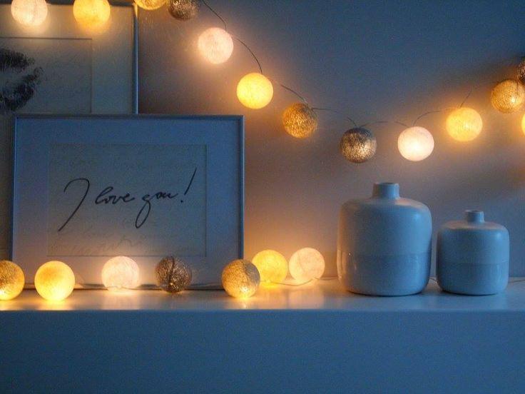 Pracownia Symetria _ Cotton Lightballs _ Romantyczna Sypialnia