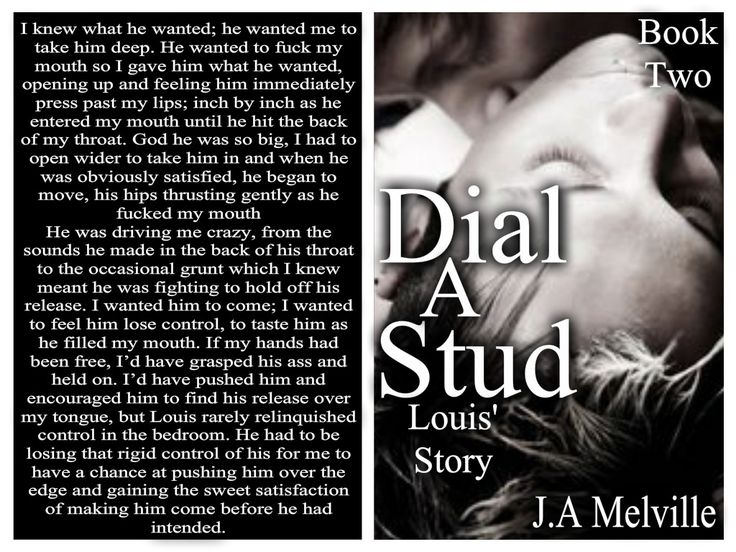Another teaser from Dial A Stud, Louis' Story, book 2, coming early 2016.