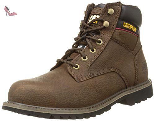 Caterpillar Electric 6 St Sb, Bottes de sécurité homme, Marron (Brown), 43 EU (9 UK) - Chaussures caterpillar (*Partner-Link)