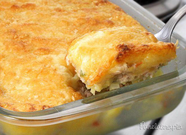 Escondidinho de Lombo com Mandioquinha ~ PANELATERAPIA - Blog de Culinária, Gastronomia e Receitas