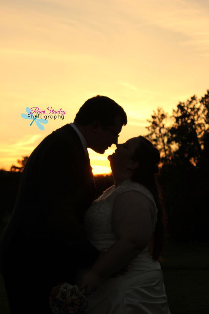 Wedding Photography. Sunset...