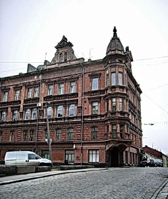 Fortress street, Vyborg, Russia Copyright: Vitaly Bichayev