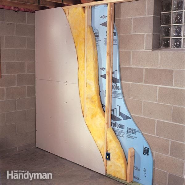 wall treatments for small bedrooms   How to Finish a Basement Wall
