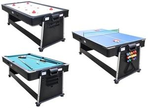 3 In 1 Table Air Hockey, Ping Pong, U0026 Pool Table | Menu0027s Den U0026 Accessories  | Pinterest | Pool Table, Game Rooms And Basements