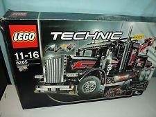 Lego Technic großer Schwarzer Abschlepptruck 8285 mit Orginal Karton