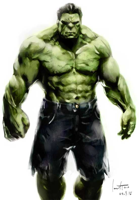 hulk by JarodTao on deviantART