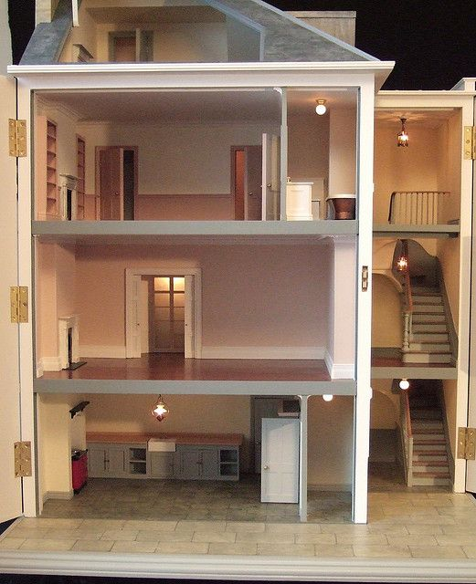 dolls' house by chriscobb1, via Flickr