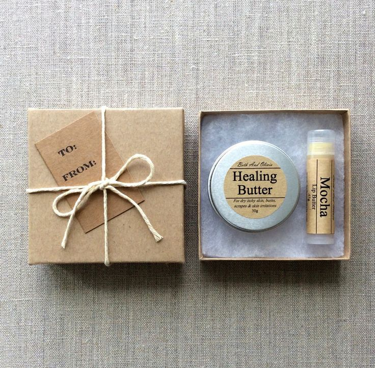 best bridal shower gifts for guests%0A Body and Lip Butter Gift Set Your choice of our   g Healing Butter or Pain