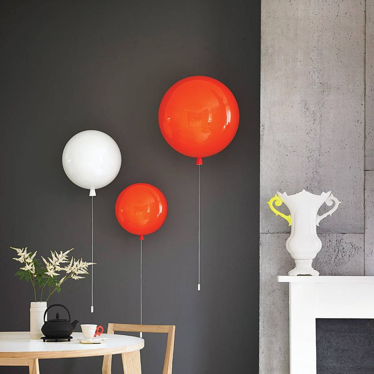 For children's bedroom .... memory balloon wall light by john moncrieff | notonthehighstreet.com