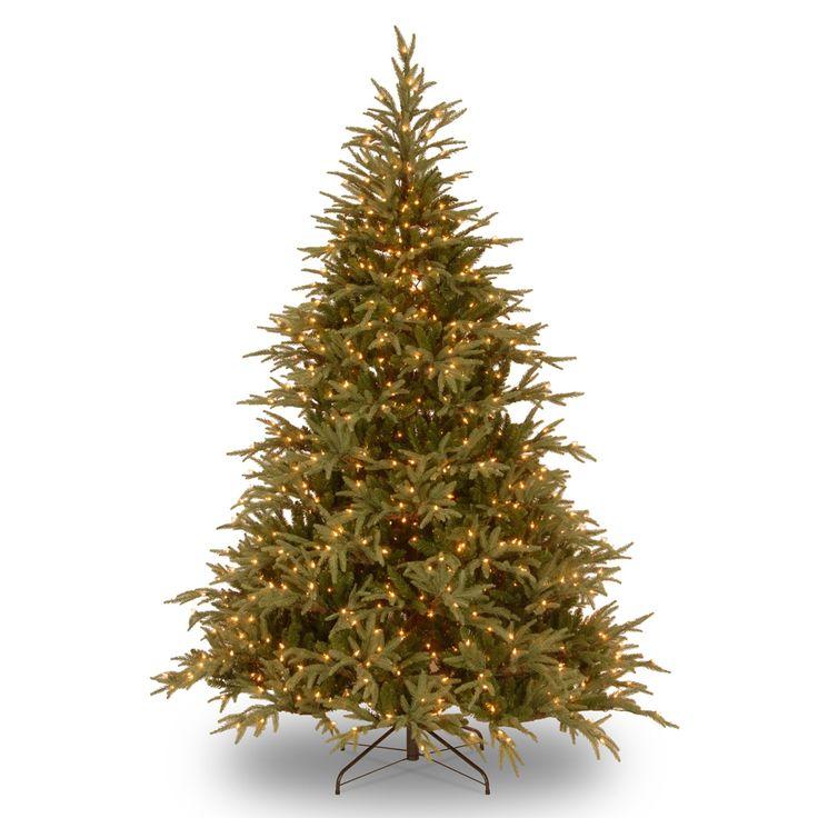 Spectacular  ft Pre Lit Dual LED u uFeel Real u u Frasier stePre Beleuchteter WeihnachtsbaumK nstliche Weihnachtsb umeWeihnachtsschmuckLedBeleuchtungWeihnachtenTree