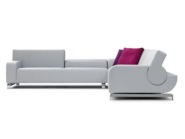 Corner Sofa / Contemporary / Reclining B FLAT By Andreas Berlin Leolux Good Looking