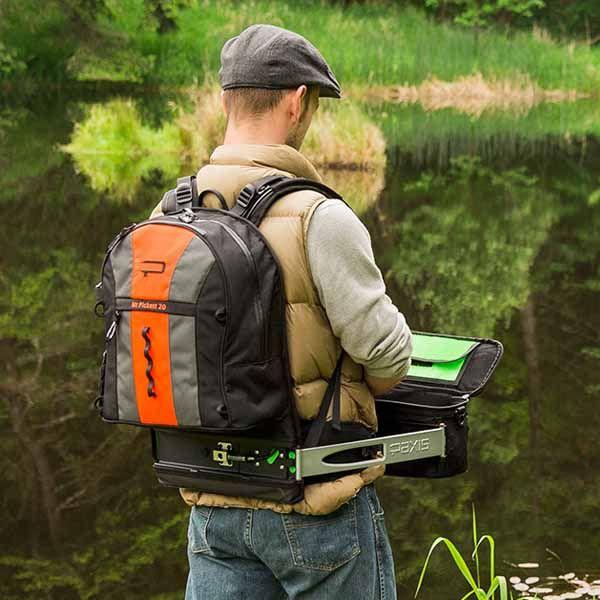 La mochila Paxis con compartimento móvil es ideal para todos aquellos que llevan a cabo sus actividades al aire libre como la caza, pesca, camping,...