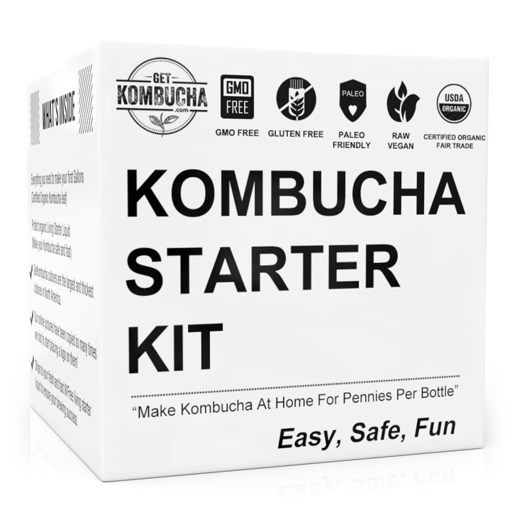 Organic Kombucha Starter Kit Giveaway!