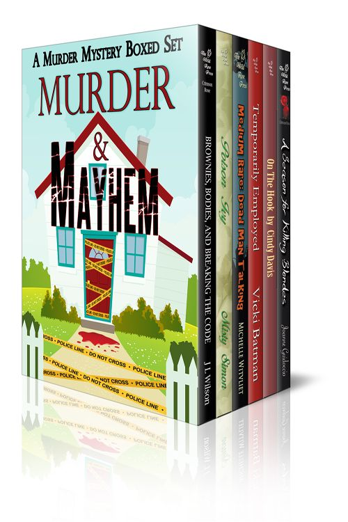 I'm thrilled to announce the release of Murder & Mayhem, a boxed set featuring six murder mysteries from the following Wild Rose Press authors: J L Wilson, Misty Simon, Michelle Witvliet, Vicki…