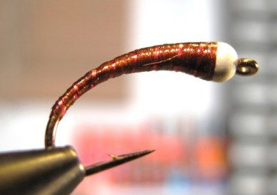 Summer Duck Chironomid Pupa Fly Pattern