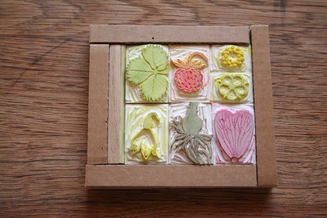 Rubber stamps - Spring I.