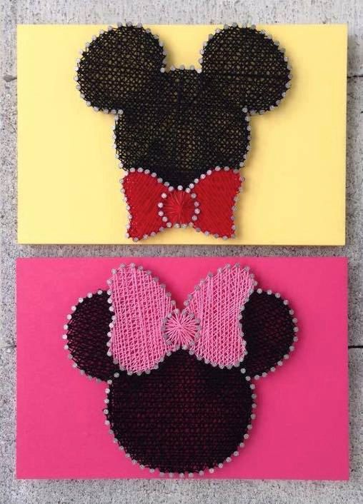 1000 Ideas About Disney String Art On Pinterest String