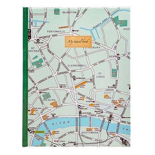 """Блокнот """"Карта Лондона"""""""