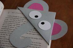 Items similar to Elephant Corner Bookmark on Etsy