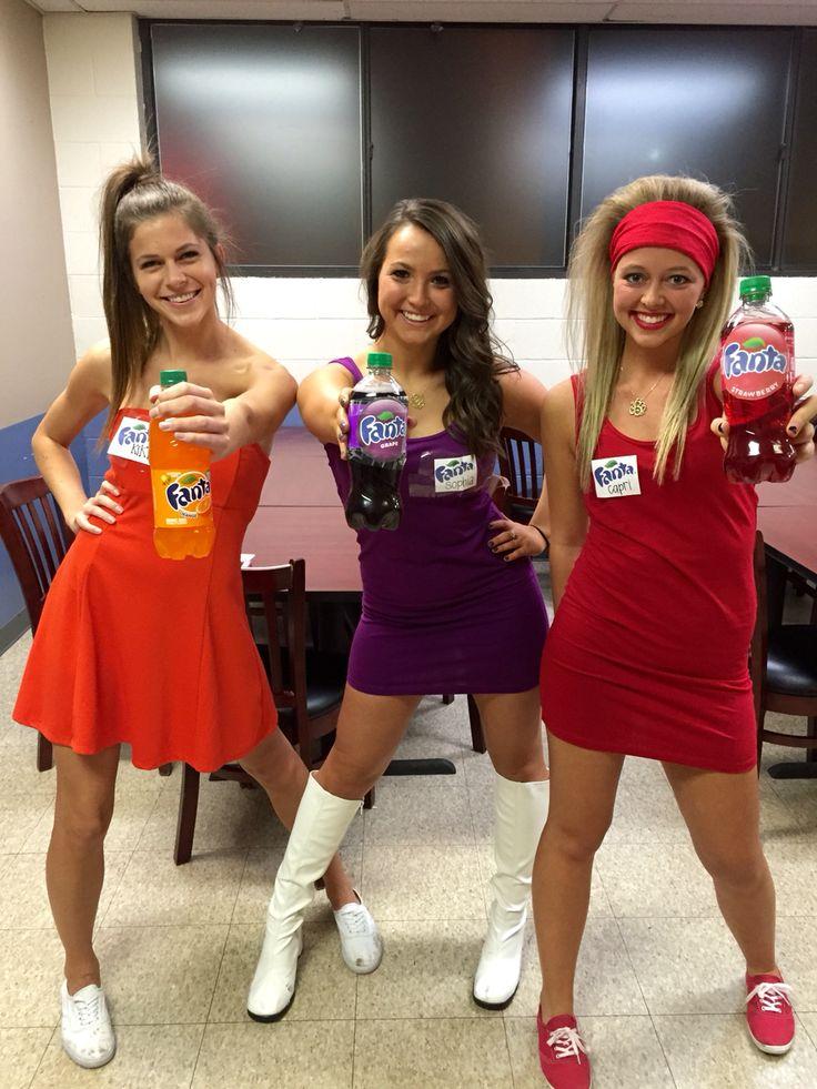 Fanta Girls. Sorority Halloween costume