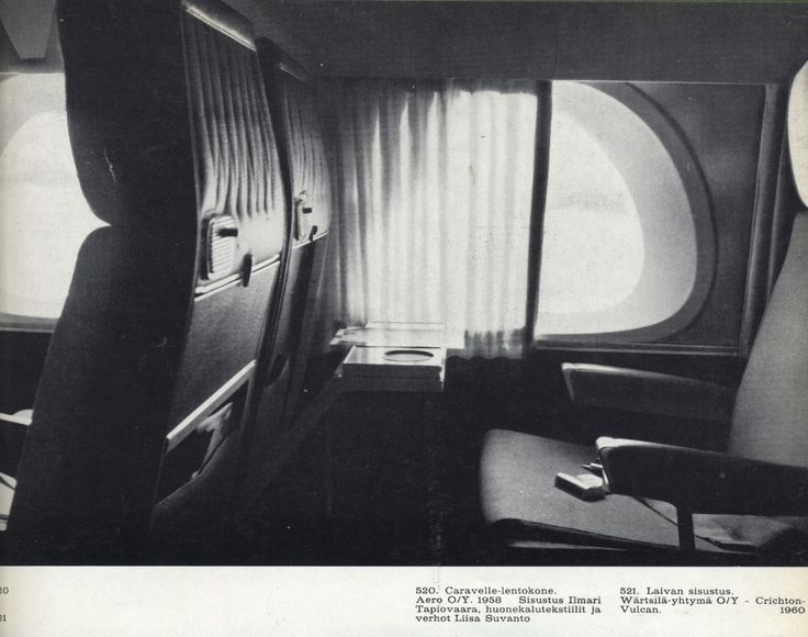 Ilmari Tapiovaara, Caravelle interior