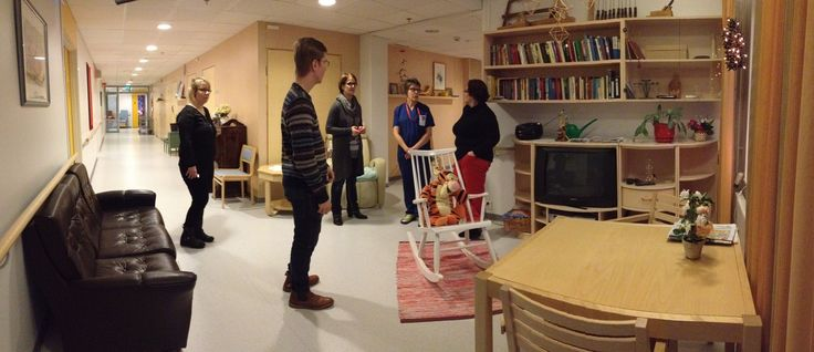 Tutstumiskäynti Kurenkartanon vanhuspalveluyksikössä.  2.12.2014