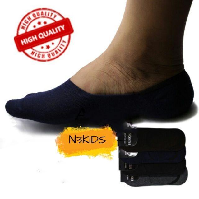 Invisible socks ------------------------- Hidden Socks atau Invisible Socks, ( Kaos Kaki Mata Kaki)  Cocok buat pakai sepatu Loafers, moccasins, sneakers Vans, Converse, Nike, Adidas, dll agar tampil lebih keren karena kaos kaki tidak akan terlihat.. ---------------- Choose your color !! - Black - Grey ( Misty ) - Brown - Blue ( Navy ) ---------------------- Keterangan Produk :  - Hidden socks ini memiliki material : Cotton 80% , Nylon 15% , dan 5%  tanpa material campuran spandex sehingga…