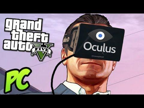 GTA 5 PC  OCULUS RIFT GAMEPLAY!! REALIDAD VIRTUAL!! #vr #virtualreality #virtual reality
