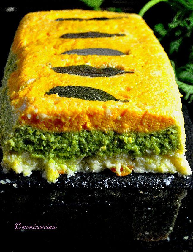 Monie Cocina: Pastel Tricolor de Verduras