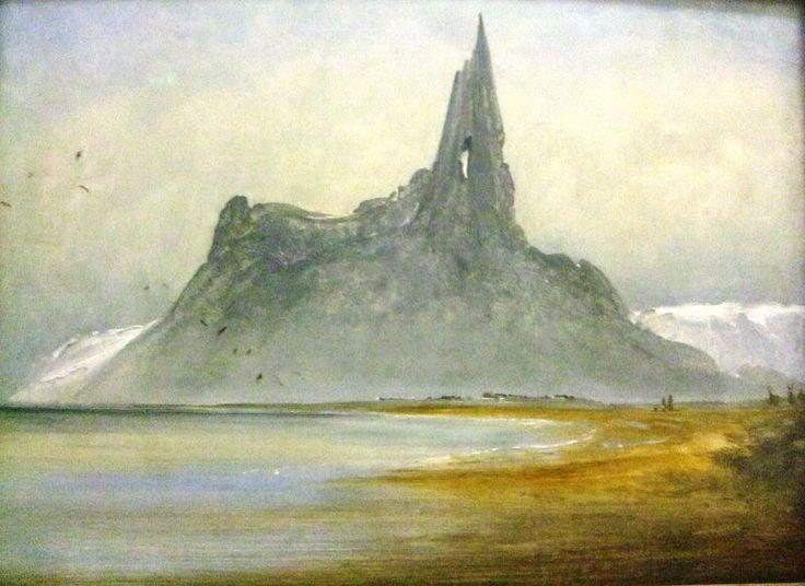 Peder Balke (1804-1887): Kielhomet in Stegen