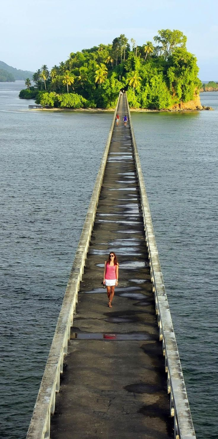 Beautiful bridge in Samana Bay | Dominican Republic Free Travel Guide