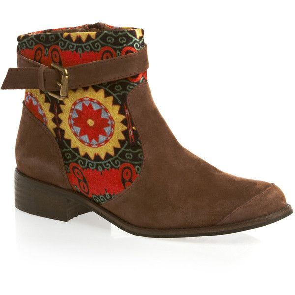 Top 5 Patterned Ankle Boots #aw13 #surfdome #desigual