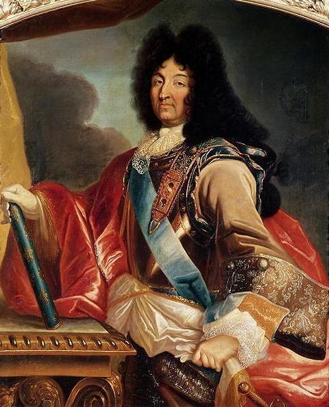 Французский костюм во время правления людовика 4