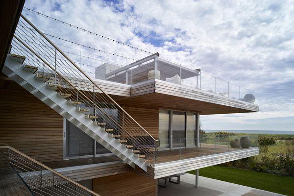 Die Kreativen und Natürlichen Merkmale der Ocean Deck Haus in New York