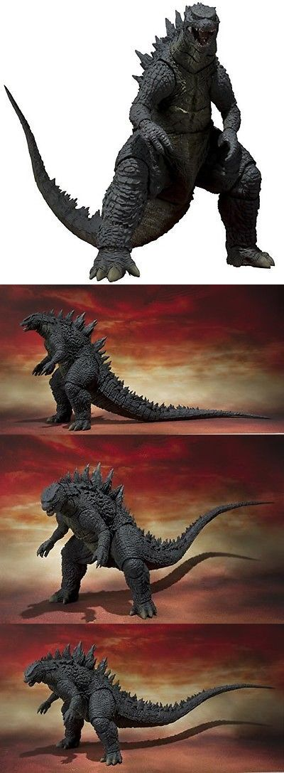 Godzilla 747: Bandai Tamashii Nations S.H. Monsterarts Godzilla 2014 Toy Figure -> BUY IT NOW ONLY: $78.59 on eBay!