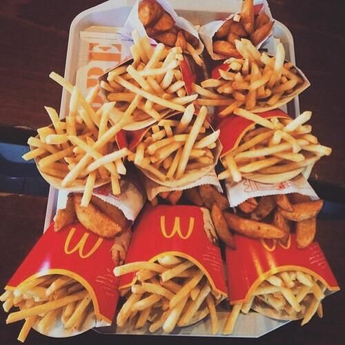 amazing, aww, beauty, chic, chips, crazy, delicious, fast, food, girl, love, mc donals, potatoes, stupid, want, wish, woow