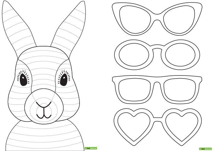 fun easter bunny craft idea