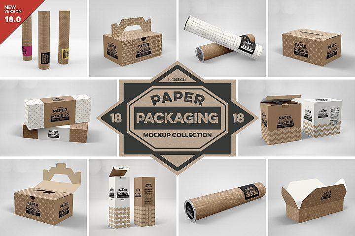 Download Vol 18 Paper Box Packaging Mockups 352212 Branding Design Bundles Packaging Mockup Free Packaging Mockup Design Mockup Free