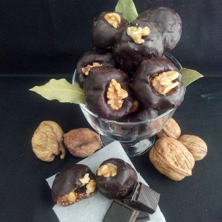 çikolatalı incir