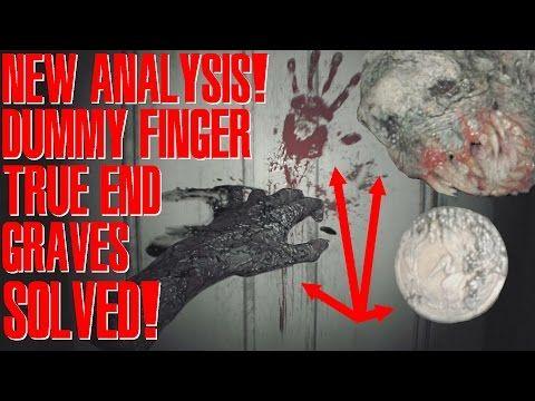 *NEW ANALYSIS* TRUE ENDING + DIRTY COIN / DUMMY FINGER SOLUTION RESIDENT EVIL 7 DEMO ANALYSIS! - YouTube