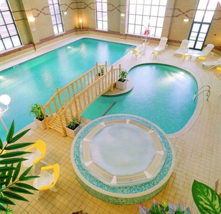 Swimming Pool Magnificent Indoor Design With Mini Bridge How To Build In The House